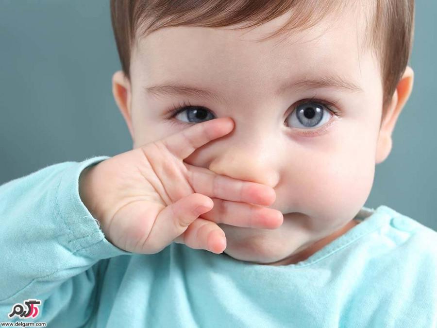 درمان سریع آبریزش بینی در کودکان