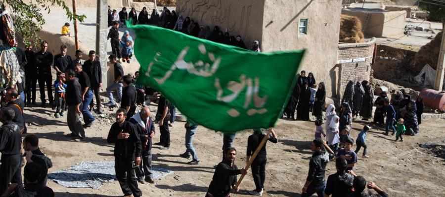 تصاویر عزاداری عاشورای حسینی در روستای جوشین آذربایجان شرقی