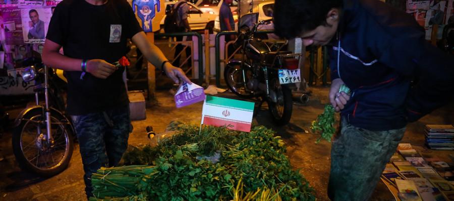 تصاویر آخرین ساعات تبلیغات انتخابات ریاست جمهوری در سطح شهر تهران -4