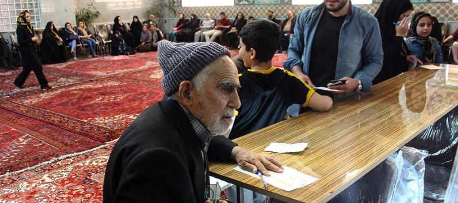 تصاویر انتخابات ریاست جمهوری و شورای اسلامی شهر و روستا در تبریز