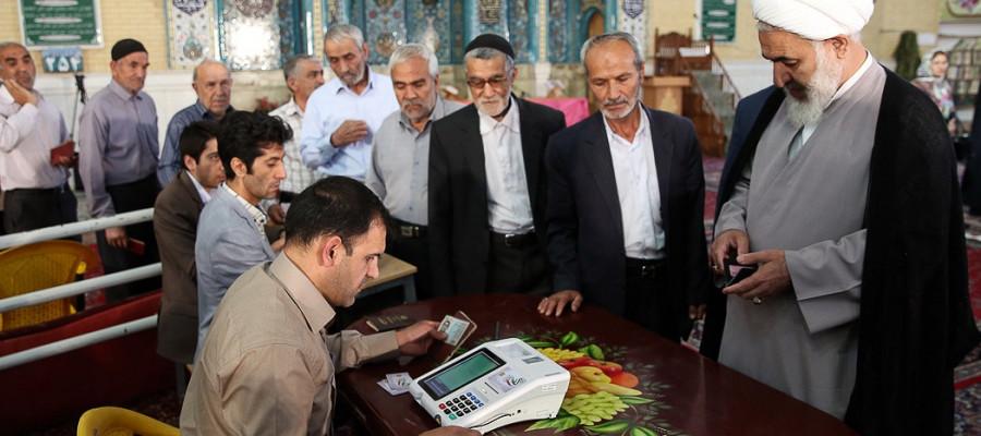 تصاویر انتخابات ریاست جمهوری و شورای شهر و روستا در استانها -7
