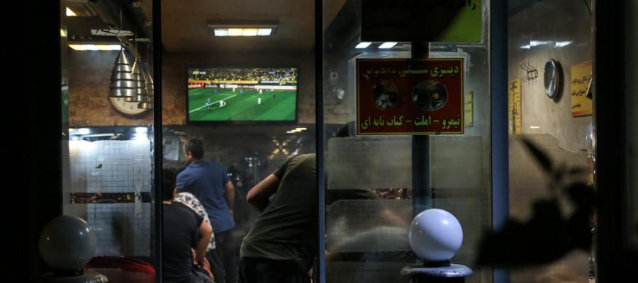 تصاویر شادی مردم تهران پس از صعود تیم ملی فوتبال به جام جهانی روسیه