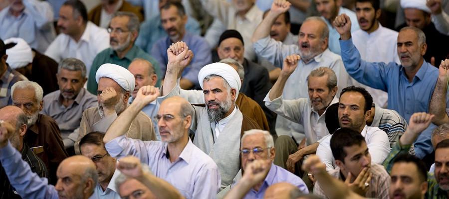 تصاویر نماز جمعه تهران  - 23تیر۱۳۹۶