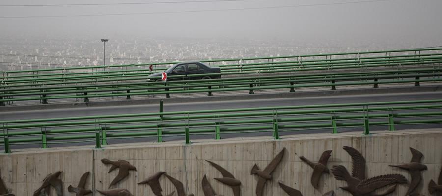 تصاویر ریزگردها در اصفهان