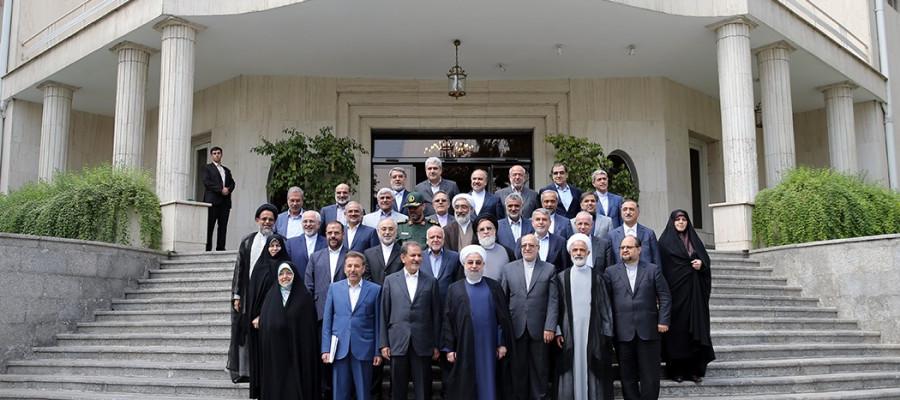 تصاویر آخرین جلسه کابینه دولت یازدهم