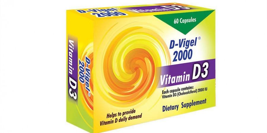 موارد مصرف و عوارض کپسول د- ویژل (D-VIGEL)