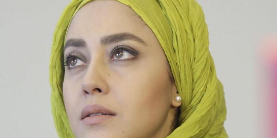 """گریم زیبای بهاره کیانافشار در فیلم سینمایی """"بیوزنی"""""""