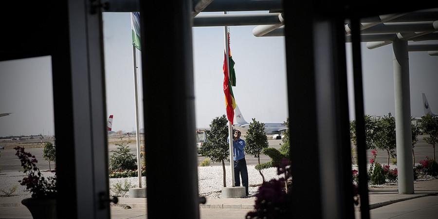 تصاویر ورود مهمانان خارجی شرکت کننده در مراسم تحلیف رئیس جمهور