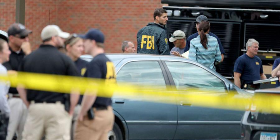 تصاویر حمله به مسجدی در آمریکا