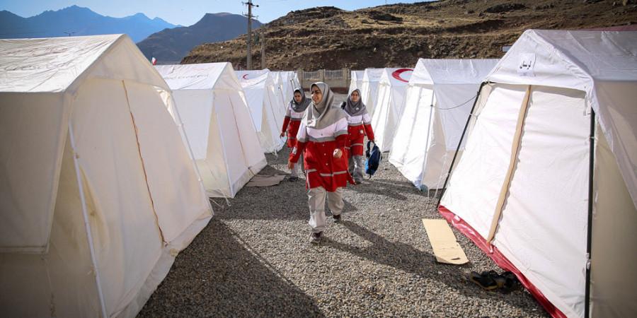 تصاویر مانور امداد و نجات ویژه بانوان