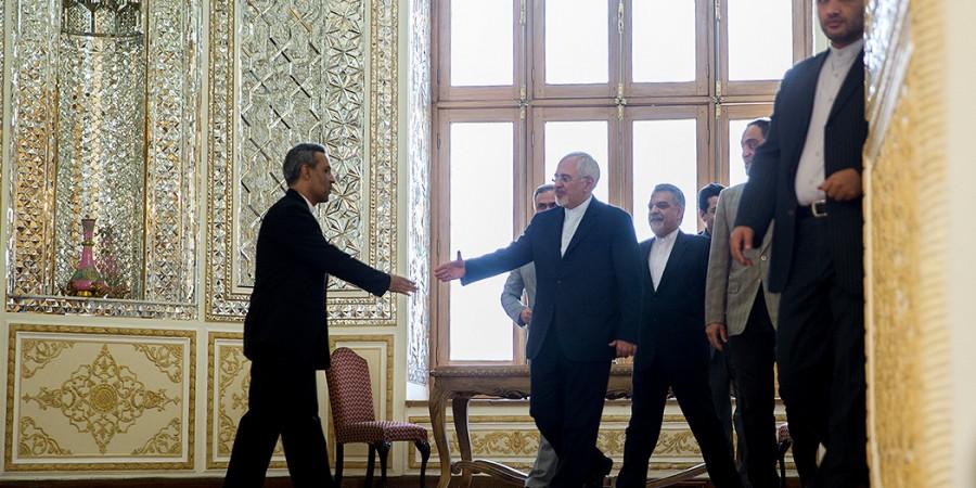 تصاویر دیدار نماینده ویژه دبیرکل سازمان ملل در امور یمن با وزیر امور خارجه