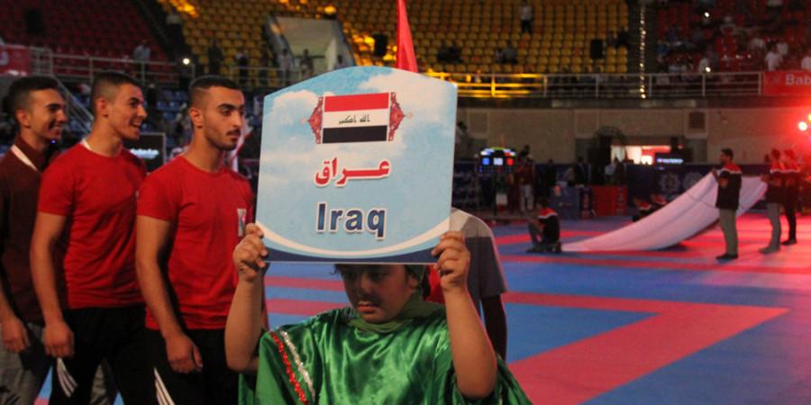 تصاویر مراسم افتتاح مسابقات بین المللی کاراته  جام وحدت و دوستی