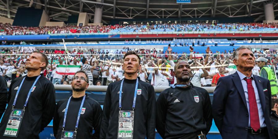 تصاویر دیدار تیم های ملی فوتبال ایران و مراکش