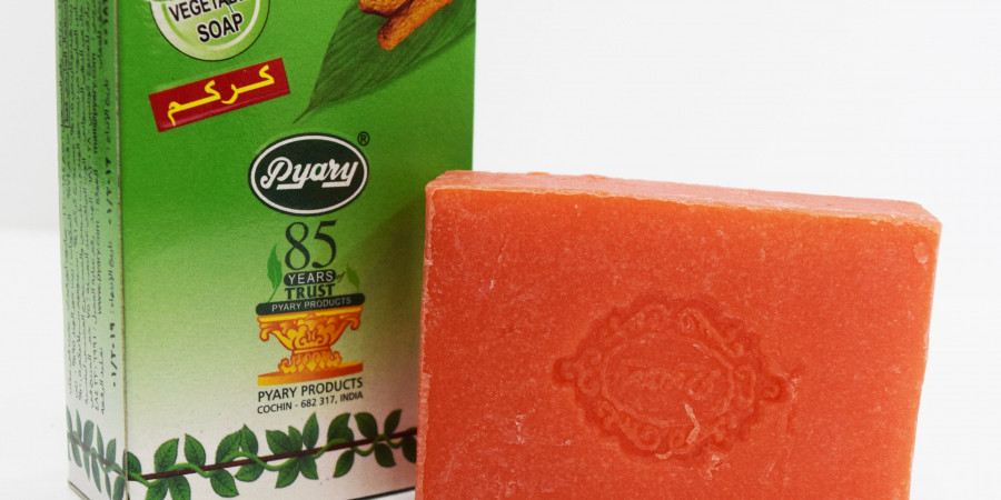 فواید صابون زردچوبه برای مشکلات پوستی